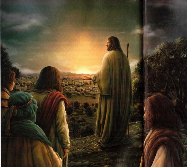 la oraci?n de Cristo Ahnsahnghong